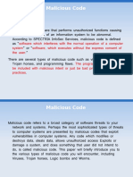 Malicious Code Slides