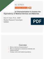useofchemicalcharacterizationtoassesstheequivalencyofmedicaldevicesandmaterialsslideshare-140915122027-phpapp01