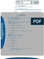 Seminario a Foligno, disturbi motori dell'esofago e malattia da reflusso