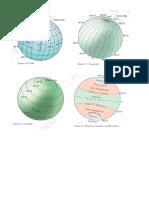 longitude and latitude diagrams