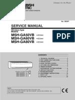 MSH-GA60VB Service Manual