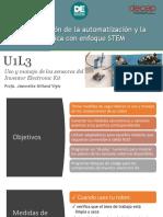 Uso y Manejo de Sensores Del Inventor Electronic Kit