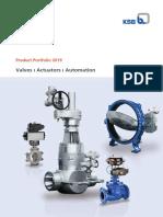 KSB Product Portfolio Valves 2019.pdf