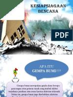 Kesiapsiagaan Bencana