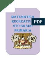 MATEMÁTICA RECREATIVA 6