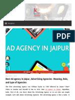 Best Ad Agency in Jaipur