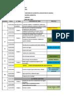 Cronograma de Clases II 2019