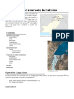 List of Dams and Reservoirs in Pakistan