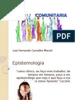 Epistemologia Investigacao-Acao e Necessidades Da Comunidade