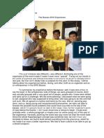 Bazaar Narrative Report