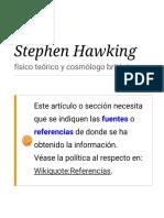 Stephen Hawking Citas