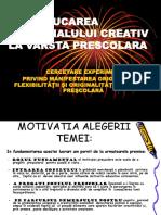 Educarea Potentialului Creativ La Prescolari_prezentare