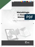 METODOLOGIA DO ENSINO DA MATEMATICA
