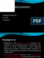 Presentation on Medical Negligence (2)