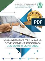 Training Development Program