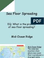 1 4 Sea Floor Spreading.ppt