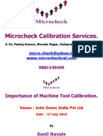 Why to Calibrate CNC Machine