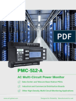 PMC-512-A AC Multi-Circuit Power Monitor