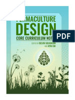Permaculture Design Core Notes 2018