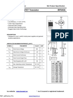 Power MOSFET IRF640A-InchangeSemiconductor