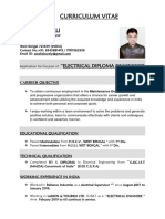 Electrical Resume