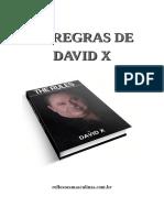 As Regras de David X - Blog Reflexoes Masculinas
