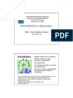 Modulo Estadistica Aplicada 2013
