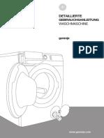 Gorenje Waschmaschine Manual 64 Seiten