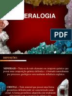 Aula 3 e 4 Mineralogia