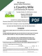 2019 cvs cc mile entry form