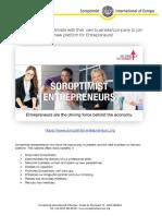 Soroptimist Entrepreneurs English