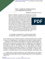 Constitución y Derecho Internacional de Los Derechos Humanos