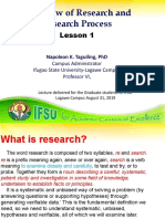 Lesson 2 Research and Research Process