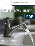 Watered Down Justice Full Report