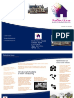 Reflections House Leaflet