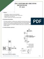 Estudio 10 Casos Simulación de Circuitos Neumáticos