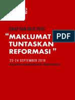 maklumat tuntaskan reformasi