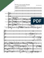 Jesu Meine Freude Mendelssohn