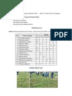 Analisis Vegetasi Membuat Plot