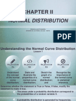 Lesson 1 Normal Curve Distribution