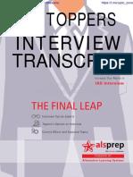 UPSC INTERVIEW TRANSCRIPT