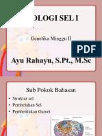 2. Biologi sel I