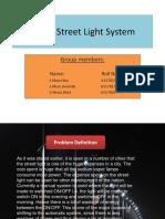 Smart Street Light System
