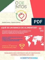 Daniela Osores Gerente General Banco de Alimentos