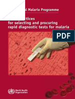 Malaria Diagnosis WHO