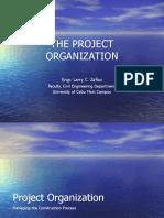 Project Organization (Project Management)