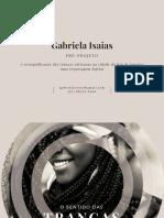 Pré-Projeto 2017 (Apresentação) - O Sentido Das Tranças