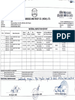 Sample Formats For material inspection reports