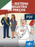 (2017) CARTILHA SEBRAE - SRP - Sistema de Registro de Preços
