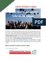 5 Best Commerce School in Jaipur